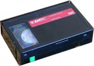 VHS C Cassette