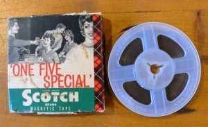 Scotch Brand magnetic tape 15 min at 3 3/4ips
