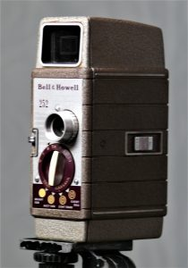 Bell and Howell 252 8mm camera