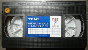 TEAC QP90 Video Head Cleaning Cassette