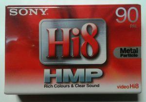 Sony Hi8 Tape