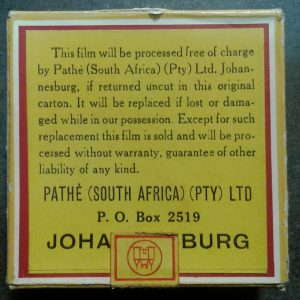 Pathe 8mm film