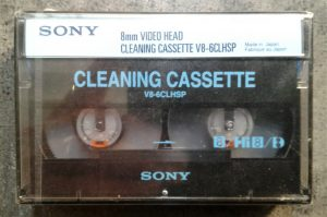 Sony 8mm Cleaning Cassette