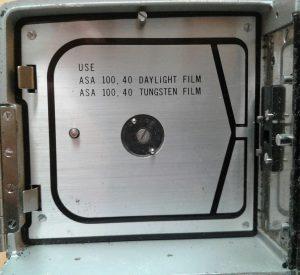Super 8 film camera