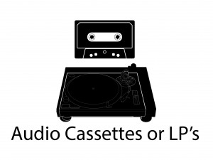 Audio Cassete & LP Player new 1