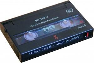 Hi8 / Digital 8 Cassette
