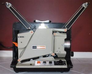 Singer Instaload 16mm projector