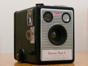 Kodak Box Brownie Flash 2 box camera