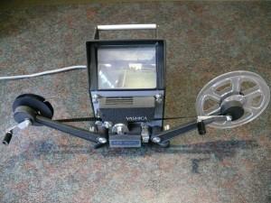 Yashica 8PE-Dual Film editor / viewer