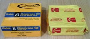 Kodak Ektachrome 160 Color Movie Film