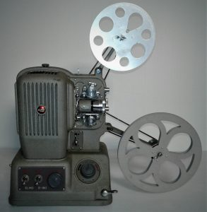 ELMO E 80 8mm film projector