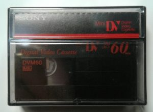 Sony Mini DV video cassette Tape black