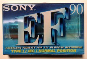 Sony Audio Tape