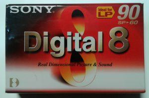 Sony Digital 8 Tape