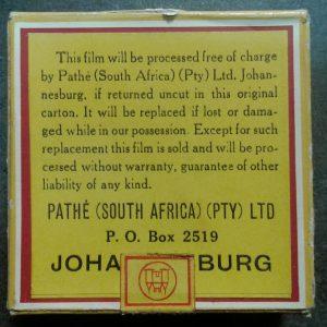 Pathe 8mm film