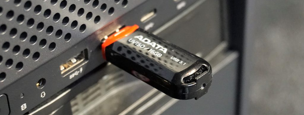 USB Drive being backed up