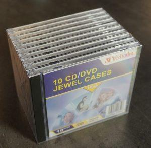 Verbatim CD Cases